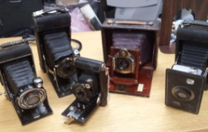 Our Town Thrift Store Vintage Cameras