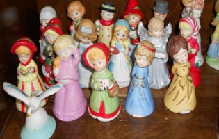 Our Town Thrift Store Vintage Figurines