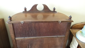 OTTS Display Cabinet Top Rear